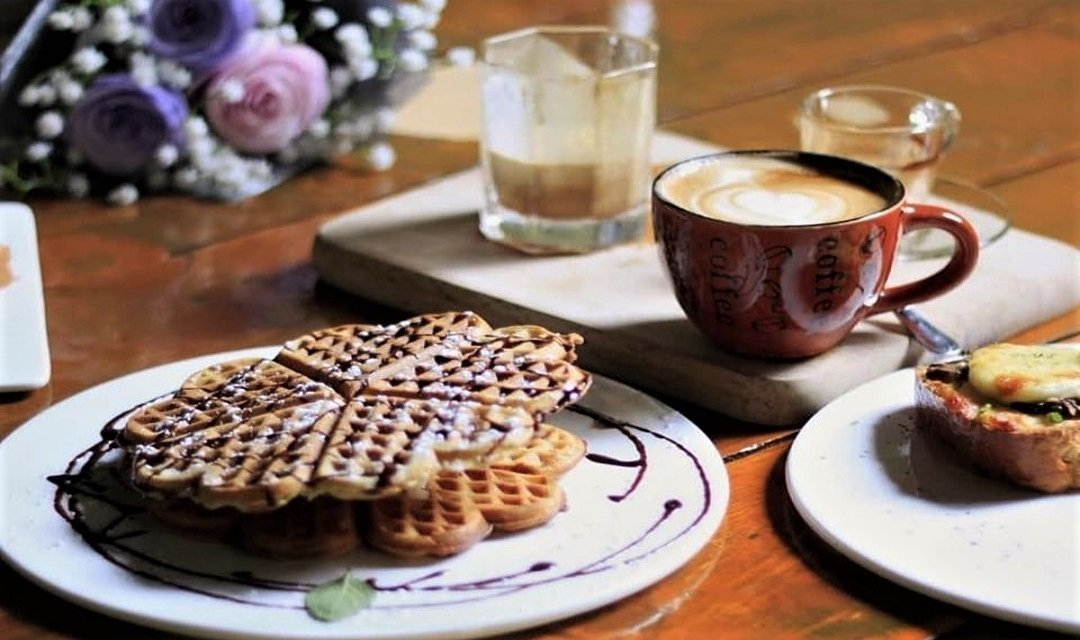 Playground Coffeery-外帶|格子鬆餅 + 咖啡