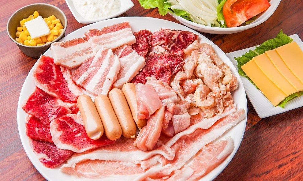 北谷龍-午餐燒肉吃到飽|含韓式五花肉