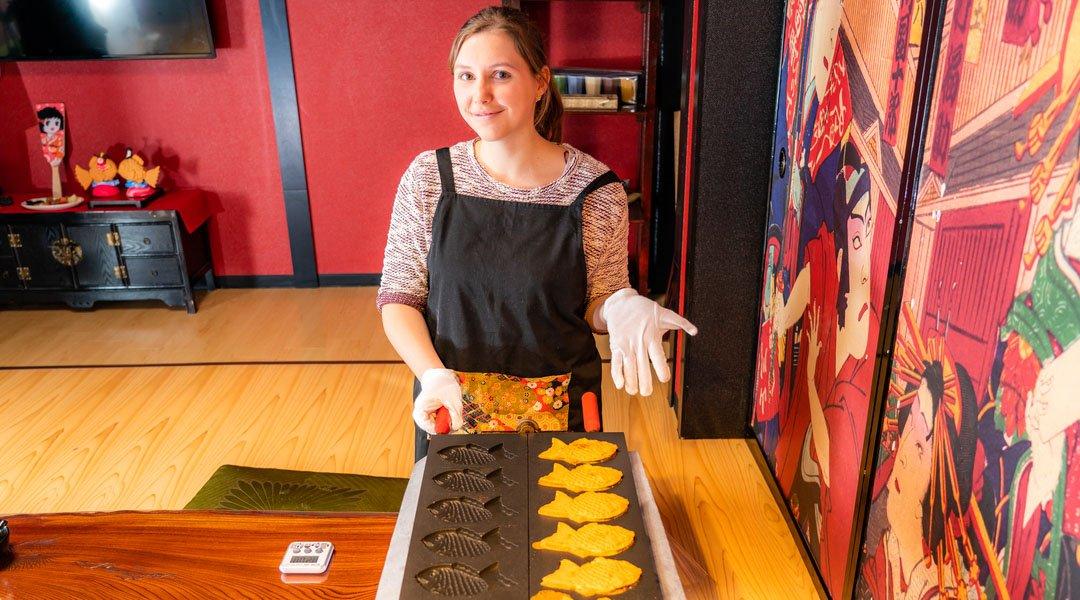 淺草鯛魚燒工房 求樂-成人|鯛魚燒製作體驗
