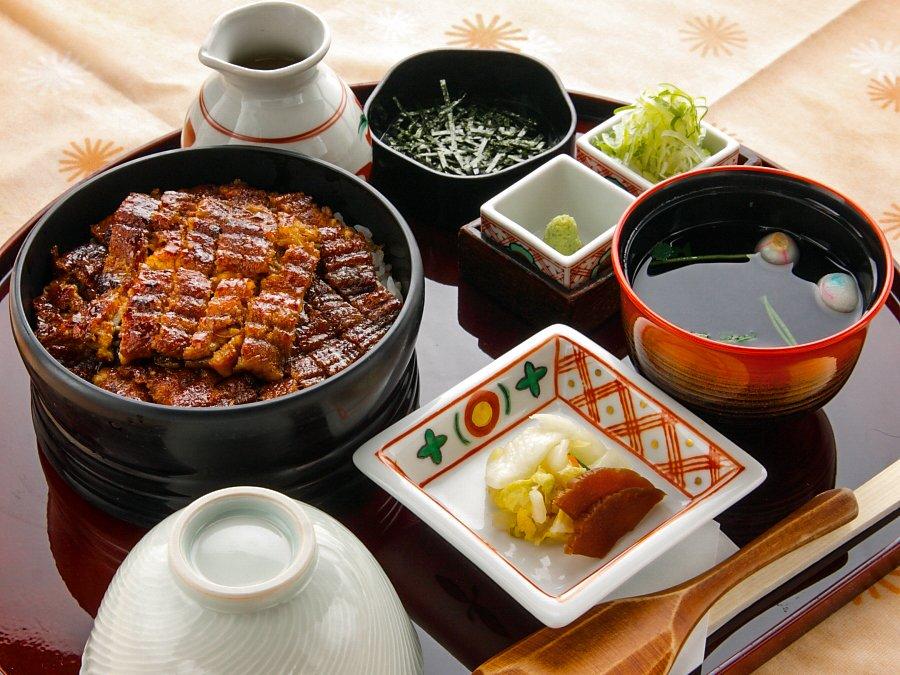 鰻魚三吃名古屋備長-東京晴空塔・Solamachi店-高級鰻魚三吃