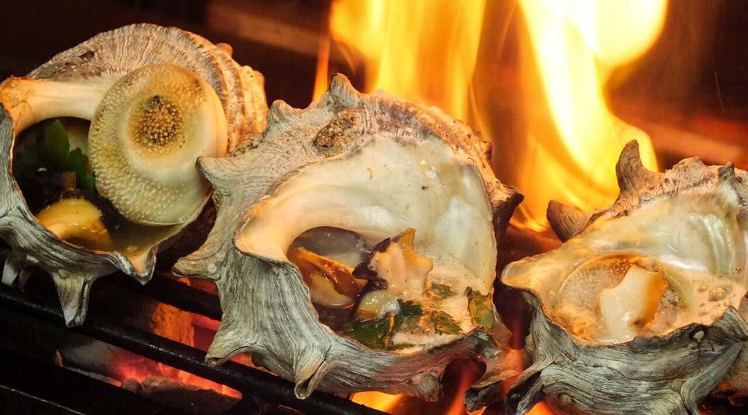 丸金水產-推薦烤海鮮套餐 附 2 小時喝到飽