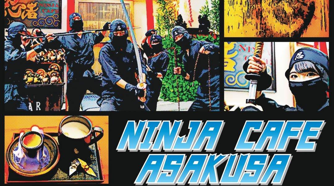 忍者咖啡廳 淺草-忍者體驗|SASUKE 方案