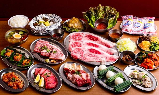大阪燒肉‧牛內臟 FUTAGO 西新宿 7 丁目店-FUTAGO 套餐|FunNow 限定附 1 杯飲品