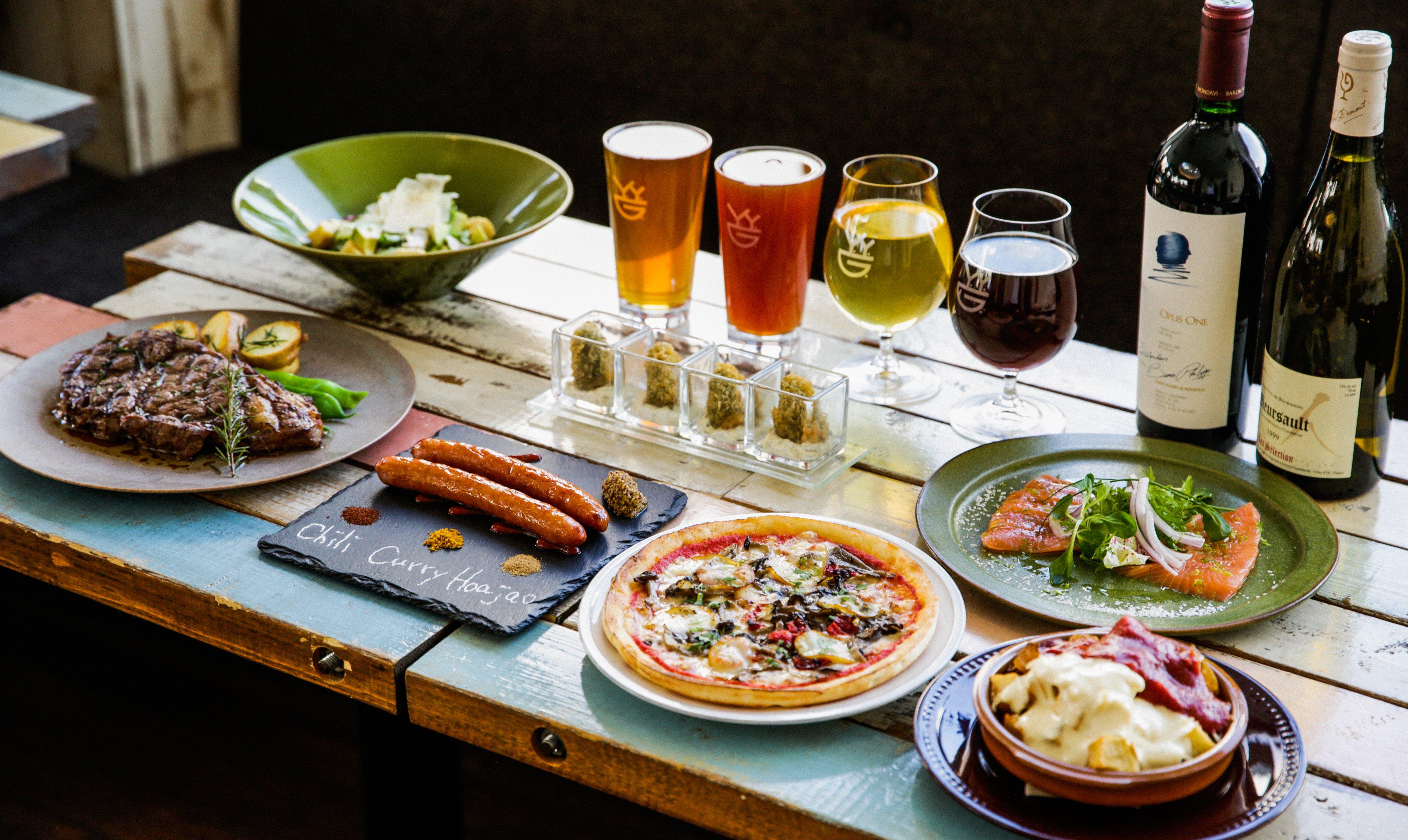 Y.Y.G. Brewery & Beer Kitchen-人氣套餐 全 7 品 附喝到飽