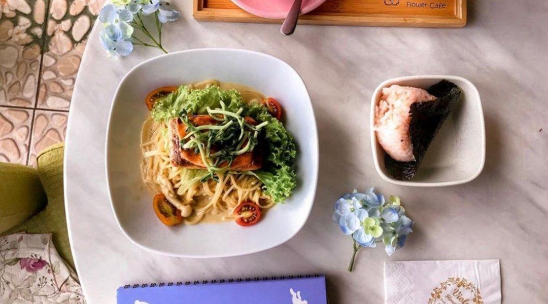 Viola Flower Cafe-Takeaway | Rice Bowl/Wafu Pasta + Drink