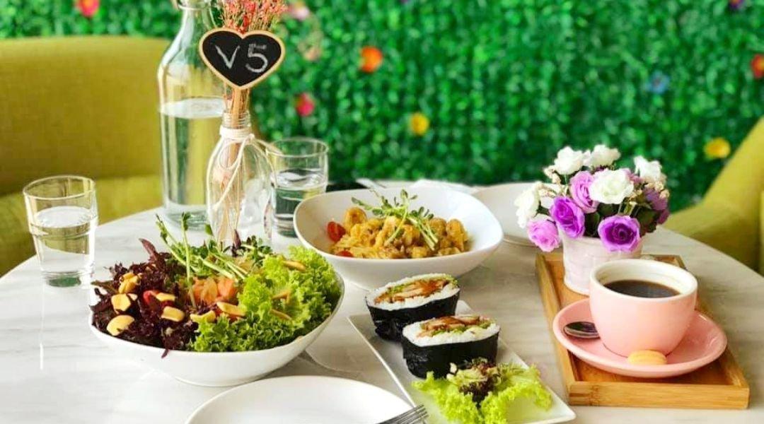 Viola Flower Cafe-Takeaway | Salad/Onigiri + Drink