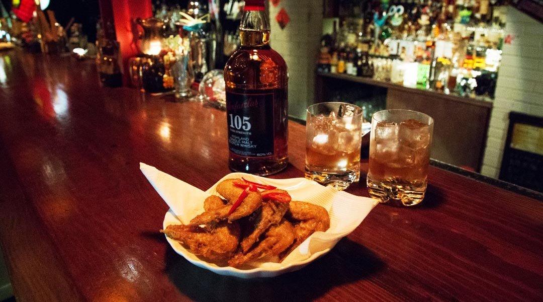 NOX Taipei-單人套餐 | 香辣拉麵 + 威士忌