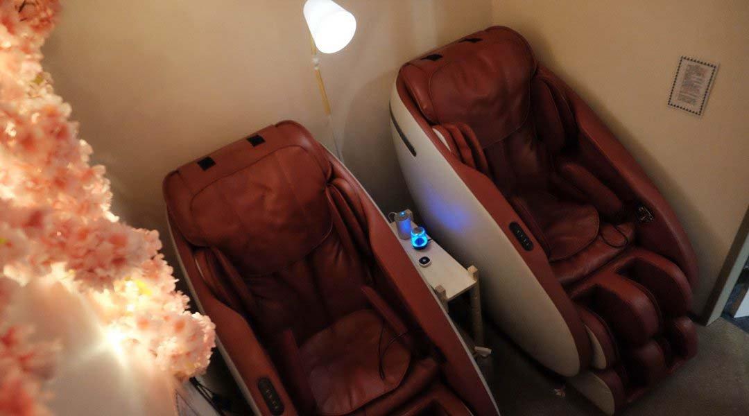 鎖睡時間-單人 50 min|主題式獨立包廂 + 零重力舒壓按摩椅