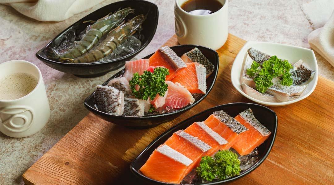 石研室 南港中信店|台北火鍋-海陸豪華雙人套餐