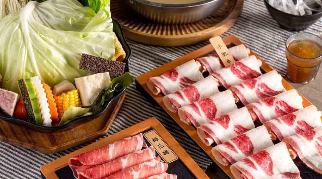 隱鍋 台中公益店-經典雙人套餐|養生鴛鴦鍋