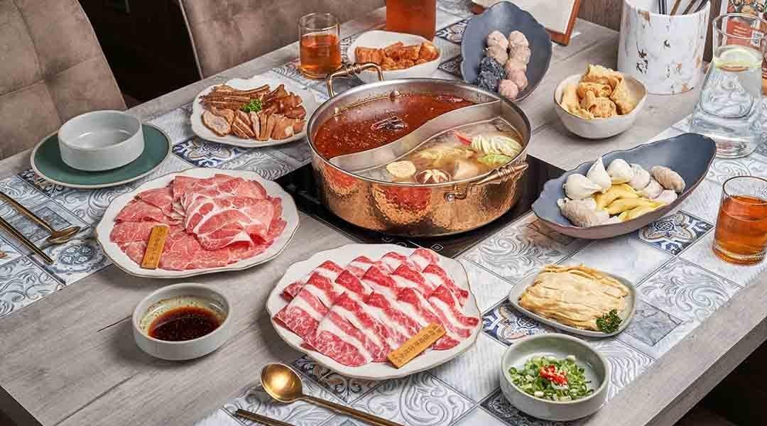 洒麻辣|台北麻辣鍋-飽足四人套餐
