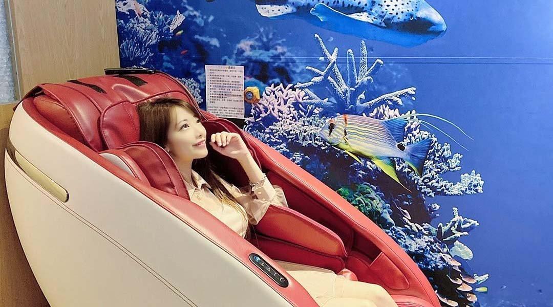 小憩睡眠咖啡館 中山國中店-雙人享受|14 萬按摩椅 + 按摩眼罩按摩 30 min
