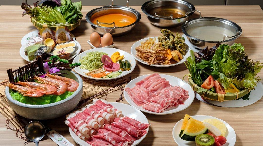 秋紅園|台北火鍋-單人野菜鍋物吃到飽