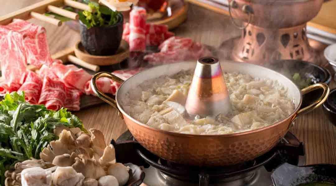 大東北天然發酵酸菜白肉鍋|台中火鍋-雙人豬牛套餐