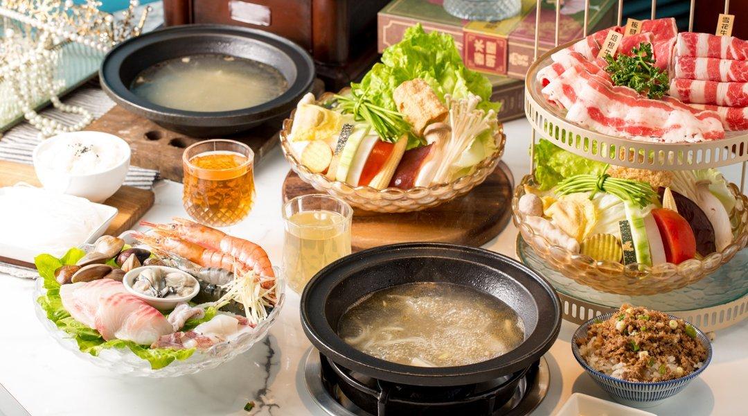 久違石頭火鍋|台中火鍋-頂級雙人套餐