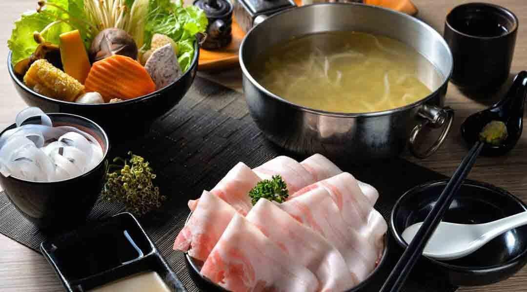 王鍋屋|台北火鍋-商業午餐|經典帶皮黑毛豬五花