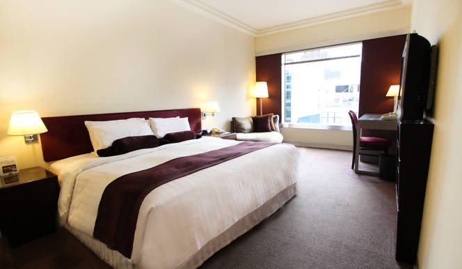 恆豐酒店 Prudential Hotel-高級雙人大床客房 10h
