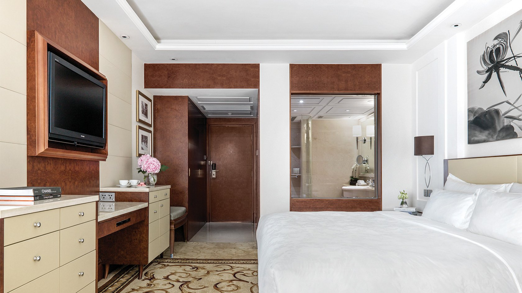 香港朗廷酒店 The Langham, Hong Kong-內園景高級客房 10h | 08:00-18:00