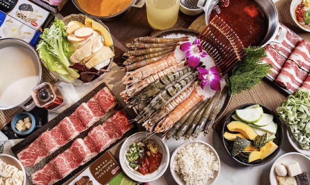 台北麻辣鍋 哈帕時尚鍋物 食物