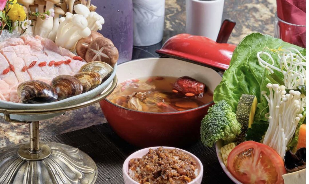 台北麻辣鍋 喜園有機鍋物 食物