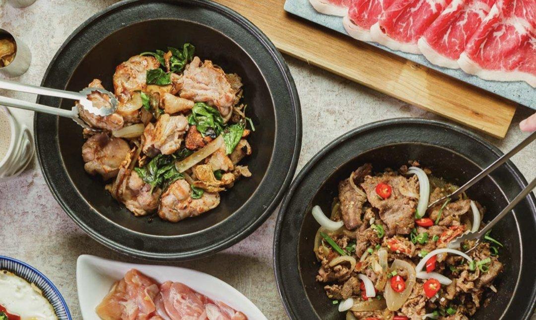 台北麻辣鍋 石研室 食物