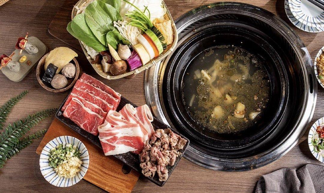 台北麻辣鍋 石石鍋創 食物