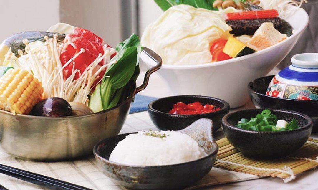 台北涮涮鍋 富鼎日式開運火鍋 食物