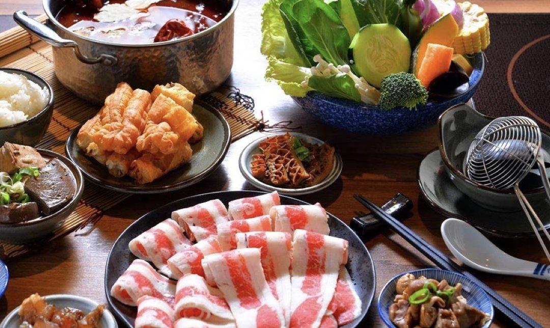 台北涮涮鍋 囍富火鍋 食物
