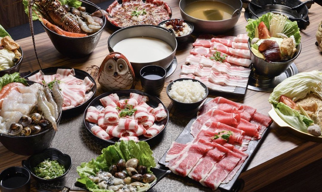 台北涮涮鍋 咕咕咕嚕 食物