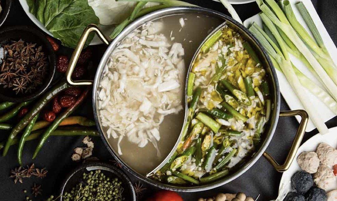 台北酸菜白肉鍋 東北之家 食物