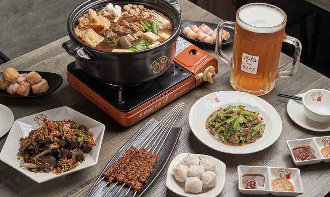 台北羊肉爐 福昌羊肉爐 食物