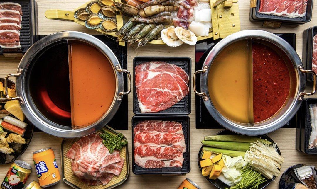 台北火鍋吃到飽 原味 食物