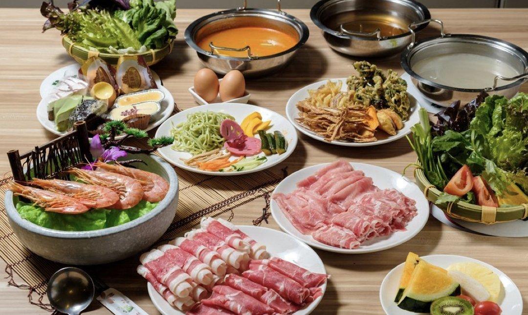台北火鍋吃到飽 秋紅園 食物