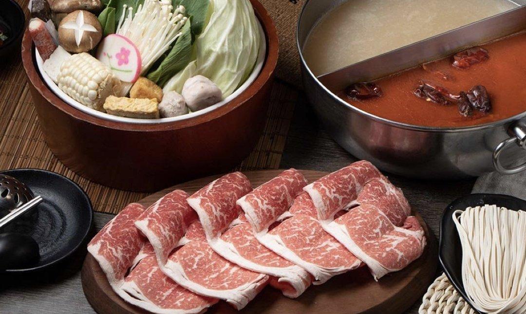 台北火鍋吃到飽 正官木桶 食物