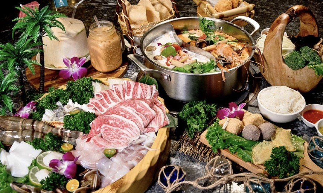 台北火鍋吃到飽 泰滾 食物