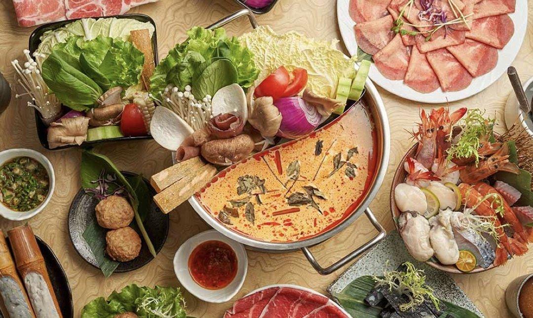台北異國特色鍋物 忻殿堂南洋叻沙鍋物 食物
