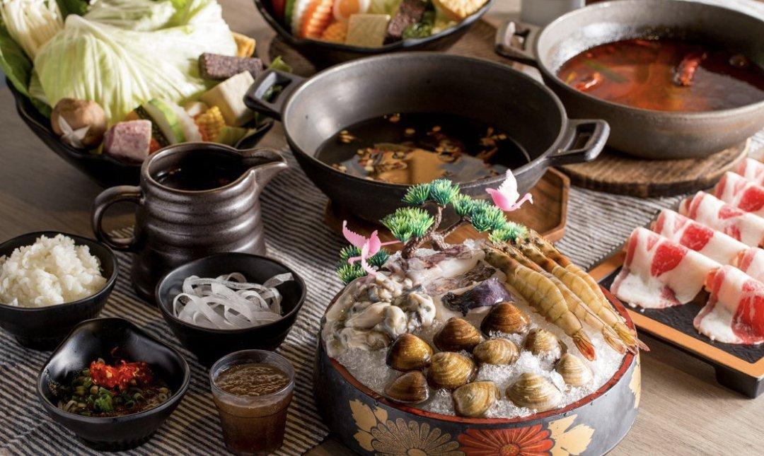 台北精緻火鍋店 隱鍋 食物