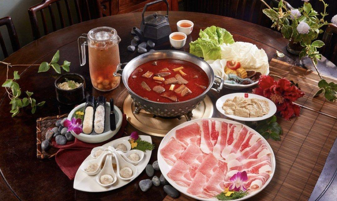 台北精緻火鍋店 鼎王 食物