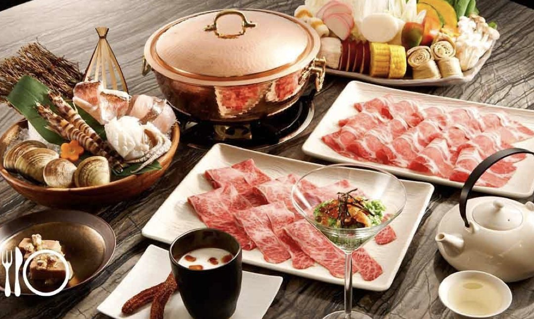 台北精緻火鍋店 但馬家 食物