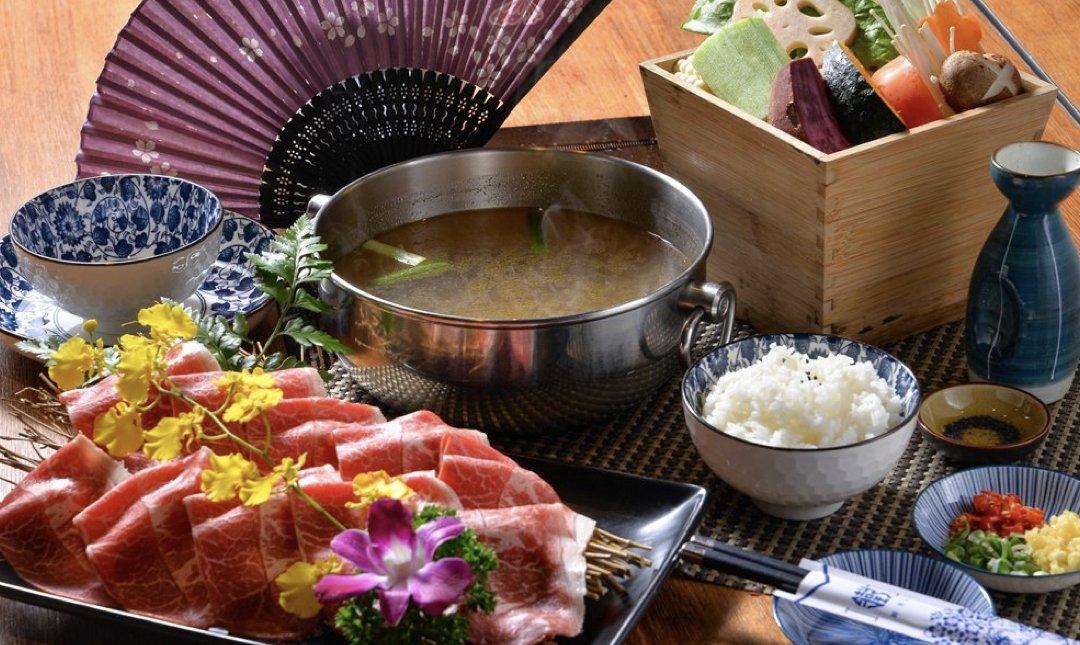 台北精緻火鍋 鐵支涮 食物