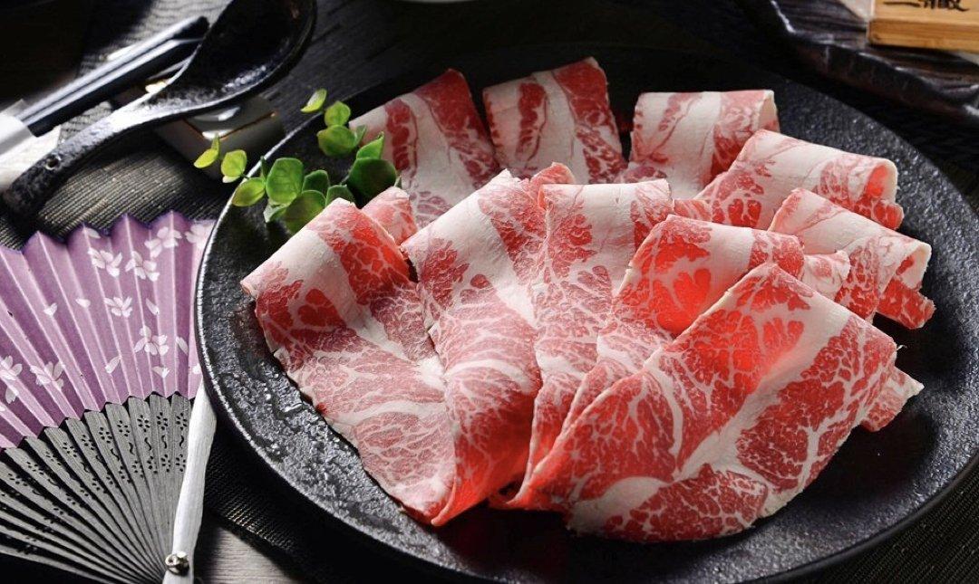 台北精緻火鍋 Sanzo三藏和牛 食物