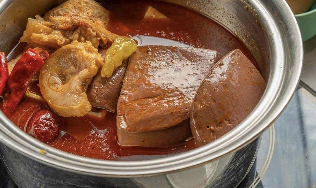 台北精緻火鍋 肉大人 食物