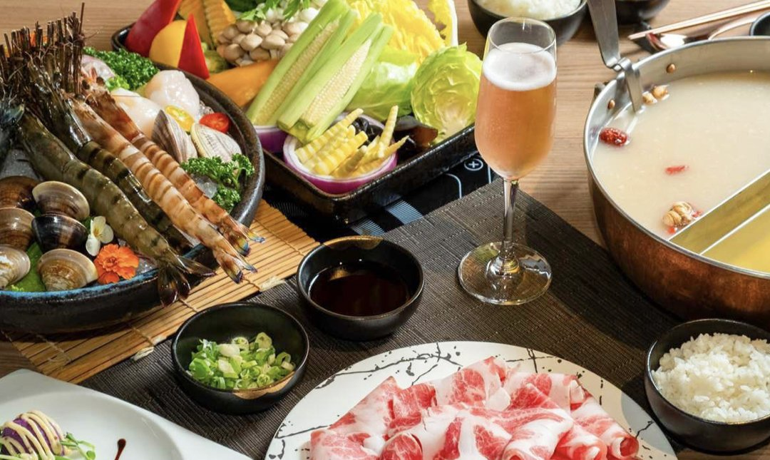 台北精緻火鍋 鍋&Bar 食物