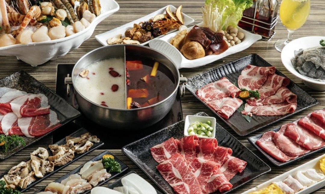 台北麻辣鍋 麻神 食物