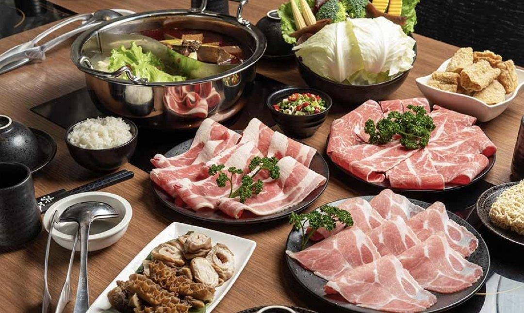 台北麻辣鍋 洪爺 食物