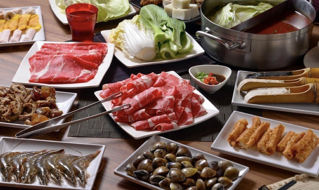 台北麻辣鍋 滿堂紅 食物