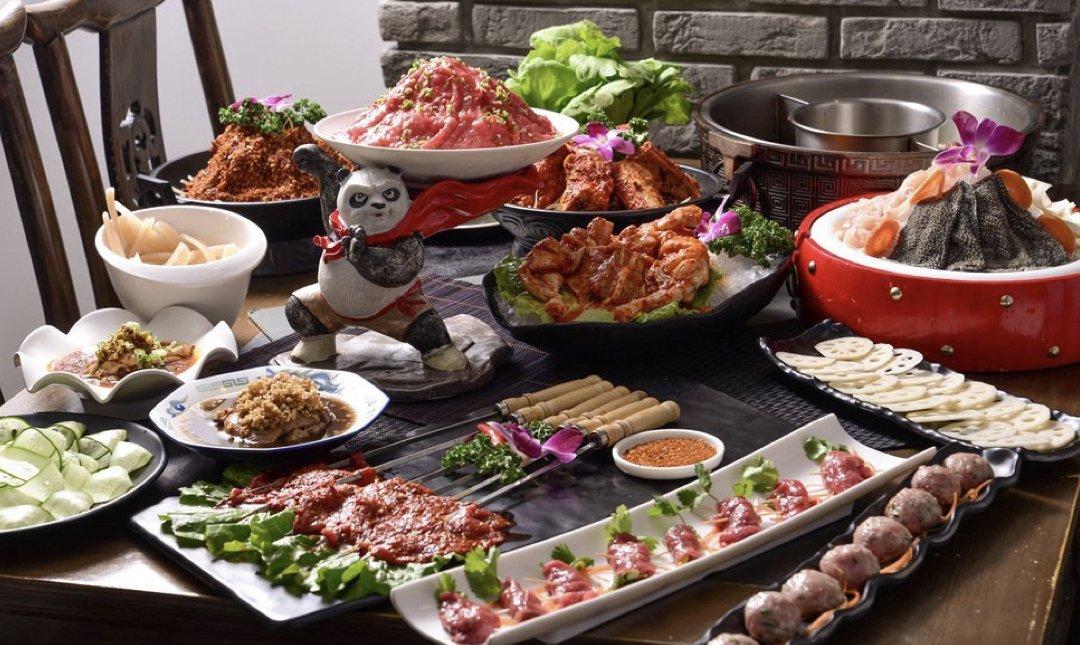 台北麻辣鍋 小膳香 食物