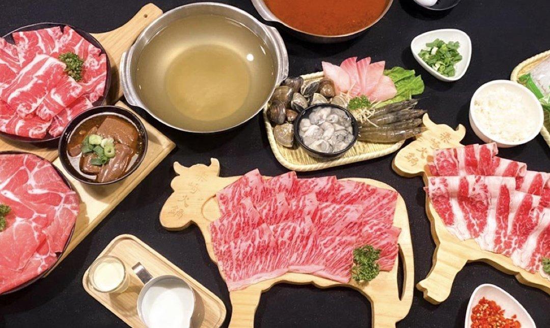 台北涮涮鍋 樂崎火鍋 食物