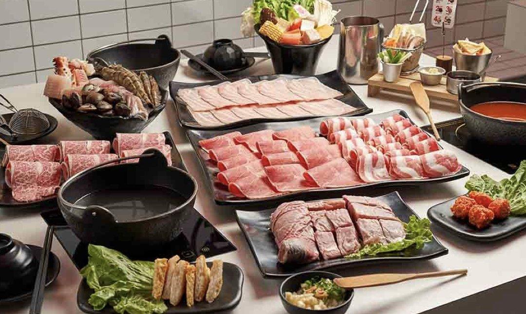 台北火鍋吃到飽 夠夠肉 食物