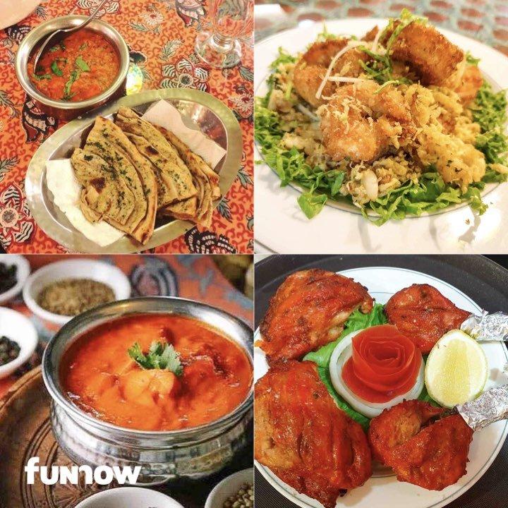 米其林外帶便當 - TAJ泰姬印度餐廳菜色